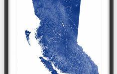 Printable Red Deer Map