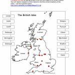 British Isles Map Worksheet   Free Esl Printable Worksheets Made Pertaining To Printable Map Worksheets