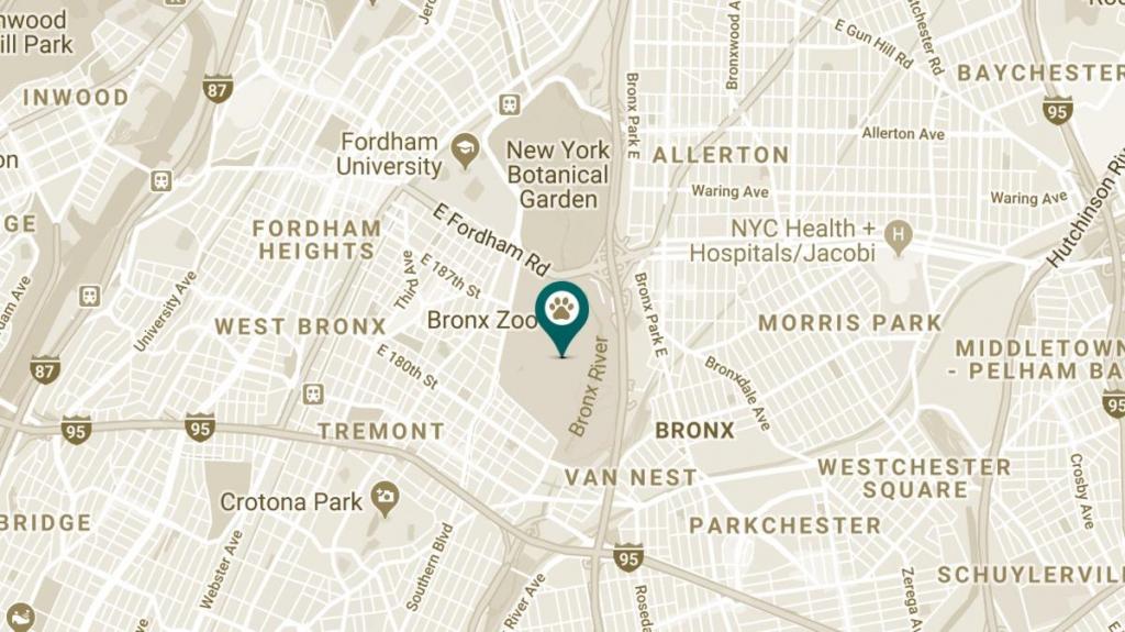 Bronx Zoo with regard to Bronx Zoo Map Printable