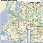 Brooklyn Bus Map   Nyc Bus Map Brooklyn (New York   Usa) Pertaining To Printable Map Of Brooklyn
