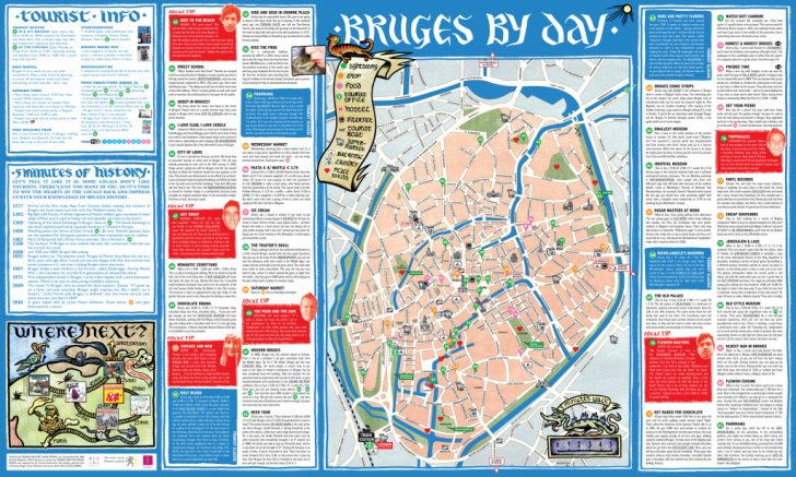 Bruges Tourist Map Printable