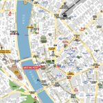 Budapest Attractions Map Pdf   Free Printable Tourist Map Budapest In Budapest Tourist Map Printable