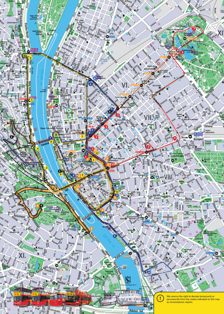 Budapest Attractions Map Pdf - Free Printable Tourist Map Budapest pertaining to Budapest Tourist Map Printable