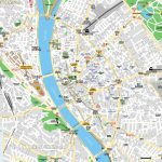 Budapest Maps   Top Tourist Attractions   Free, Printable City For Printable Map Of Budapest