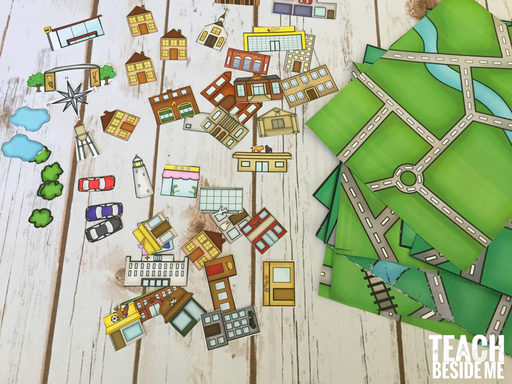 Build A City Map | Geography | Printable Maps, Map Activities, Maps in Community Map For Kids Printable