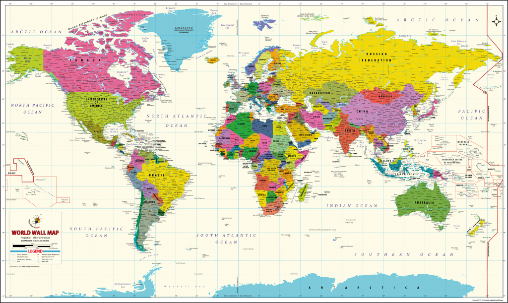 Buy World Map Vivid Online On India Map Store At Good Prices intended for World Maps Online Printable