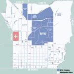 Byu Off Campus Housing With Byu Campus Map Printable