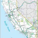 Ca California State Map Printable Road Map Of California   Klipy Throughout Printable Road Map Of California