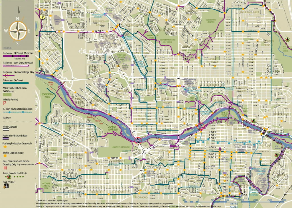 Calgary Maps | Canada | Maps Of Calgary within Printable Map Of Calgary