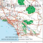 Calif La Sandiego R Free Print Map Google Maps Southern California Pertaining To Google Printable Maps