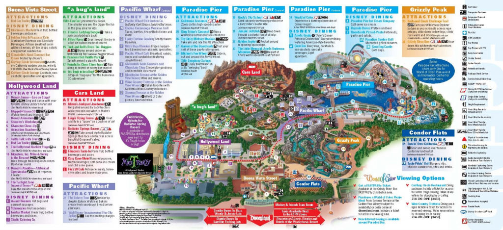 California Adventure Map Pdf - Klipy - California Adventure Map Pdf with regard to Printable California Adventure Map