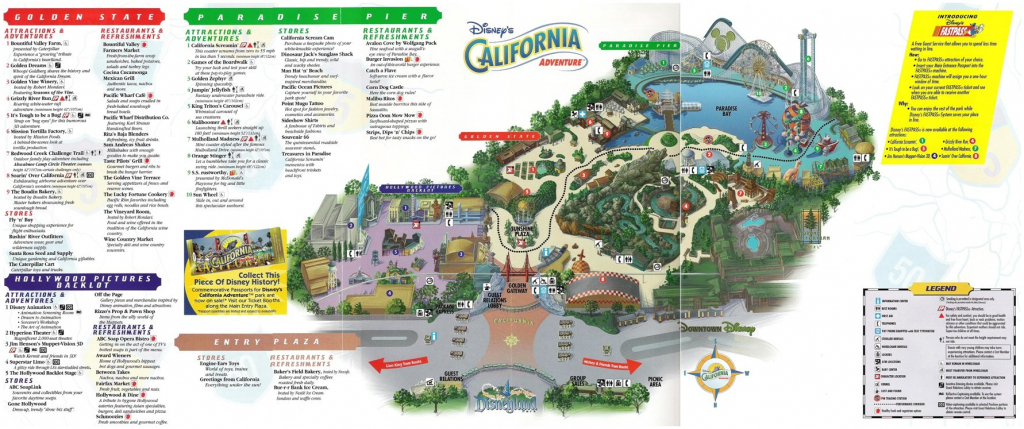 California Adventure Map Pdf Search Results Calendar California within Printable Map Of Disneyland And California Adventure