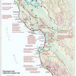 California Coastal Trail   Southern California Trail Maps With Printable Trail Maps