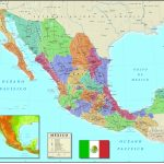 California Mexico Border Map Free Printable Map Baja California Map With Regard To Printable Map Of Mexico