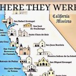 California Missions Map Printable   Pictures Collection Of Mission Throughout California Missions Map Printable