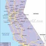California Road Map Free Print Map Detailed Road Map Of California Pertaining To Printable Map Of Long Beach Ca
