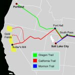 California Trail   Wikipedia With Regard To Printable Map Of The Oregon Trail