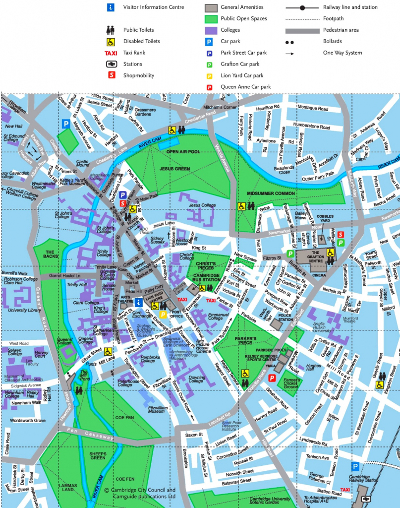Cambridge Tourist Map pertaining to Printable Map Of Cambridge Ma
