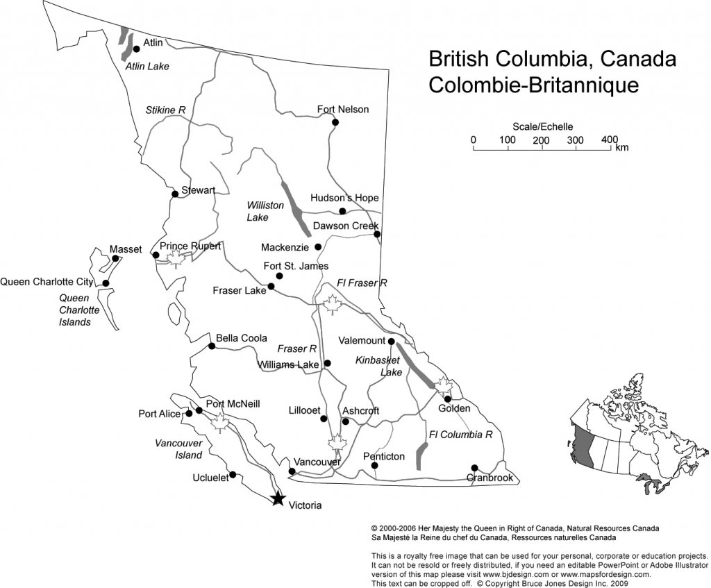 Canada And Provinces Printable, Blank Maps, Royalty Free, Canadian throughout Printable Map Of Alberta