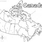 Canada Printable Map | Geography | Learning Maps, Printable Maps In Printable Map Of Canada