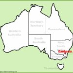 Canberra Maps | Australia | Maps Of Canberra (Capital City Of Australia) Throughout Printable Map Of Canberra