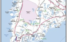 Printable Map Of Cape Cod Ma