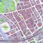 Cardiff Map City Centre Regarding Printable Map Of Cardiff