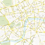 Central London Map   Royalty Free, Editable Vector Map   Maproom Within London Street Map Printable