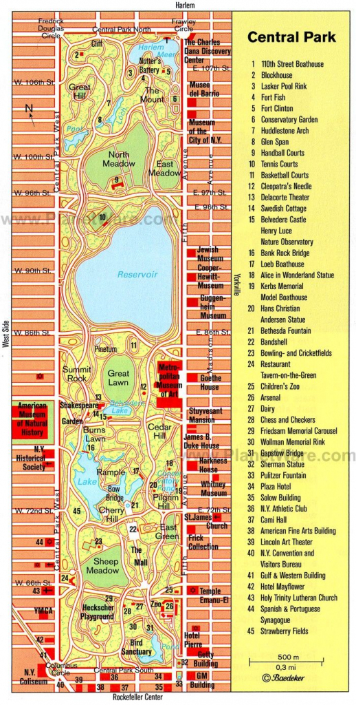 Central Park Printable Map | Nyc In 2019 | Map Of New York, New York in Printable Map Of Central Park New York
