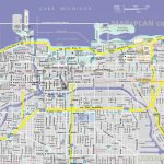 Chicago Maps   Top Tourist Attractions   Free, Printable City Street Map Inside Printable Local Street Maps