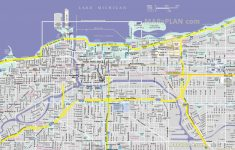Printable Map Of Downtown Chicago
