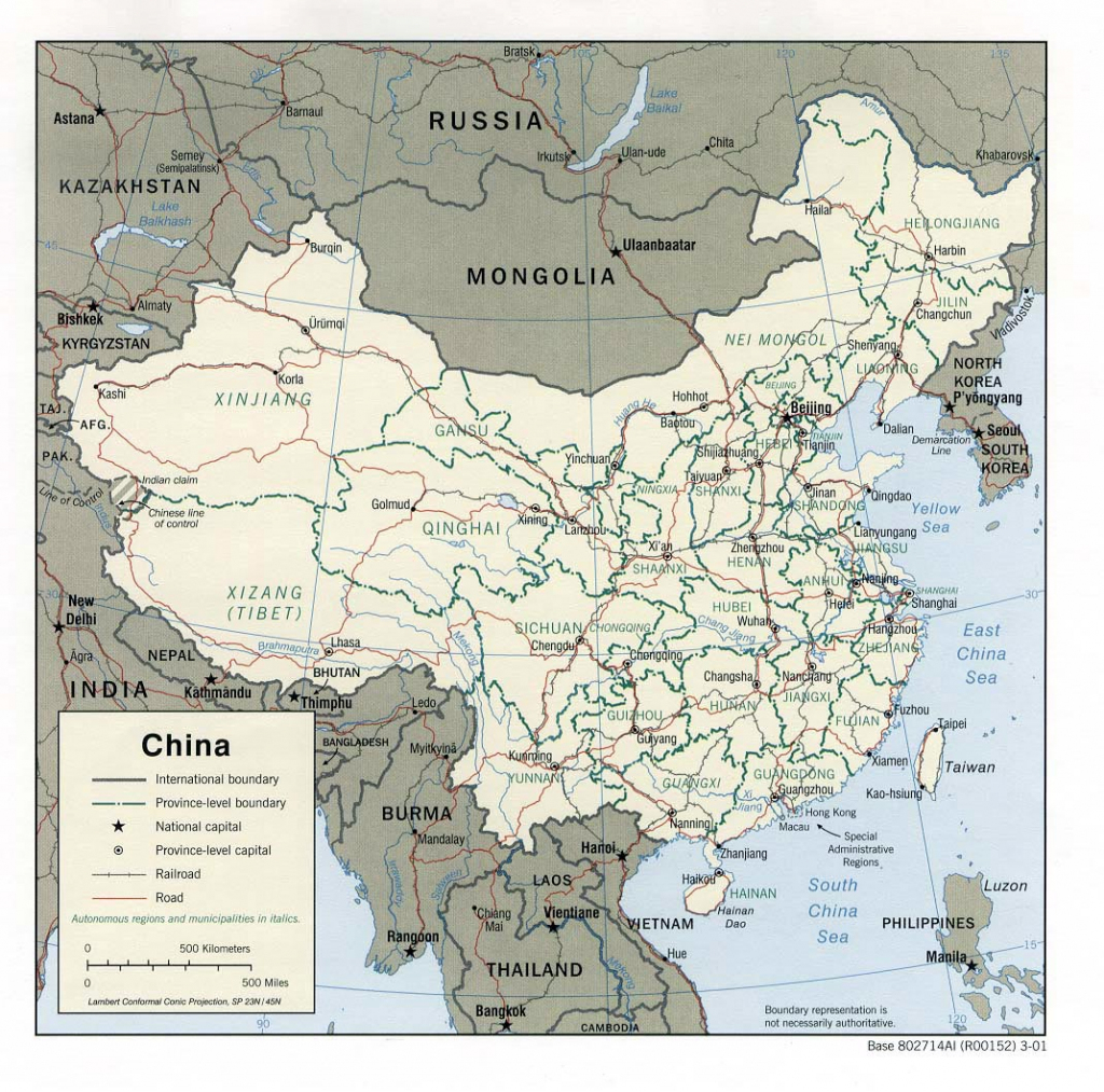 China Maps | Printable Maps Of China For Download throughout Printable Map Of China