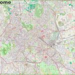 City Map Of Rome Italy And Travel Information | Download Free City Inside Street Map Of Rome Printable