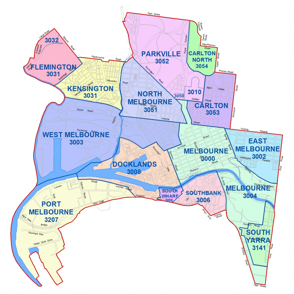 City Maps - City Of Melbourne for Melbourne Cbd Map Printable
