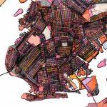 City Neighborhood – Modern City Map Print Of Brooklyn Ny Throughout Printable Map Of Brooklyn Ny Neighborhoods