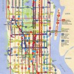 City Of New York : New York Map | Mta Bus Map | Maps In 2019 | Bus Throughout Printable Manhattan Bus Map