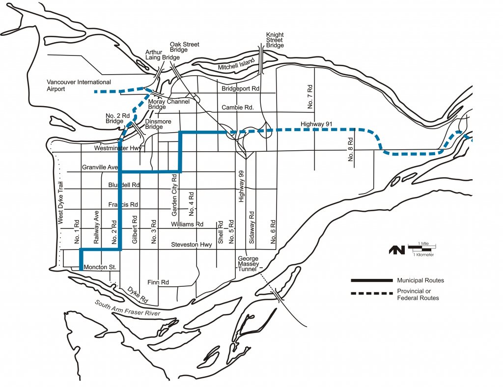 City Of Richmond Bc - Maps & Gis throughout Printable Map Of Bc