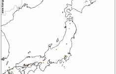 Free Printable Map Of Japan