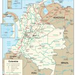 Colombia Maps   Perry Castañeda Map Collection   Ut Library Online In Printable Map Of Colombia