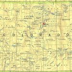 Colorado Maps   Perry Castañeda Map Collection   Ut Library Online Inside Printable Map Of Colorado