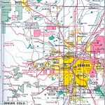 Colorado Maps   Perry Castañeda Map Collection   Ut Library Online Throughout Denver City Map Printable
