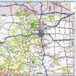 Colorado Road Map Printable | Secretmuseum Within Printable Road Map Of Colorado