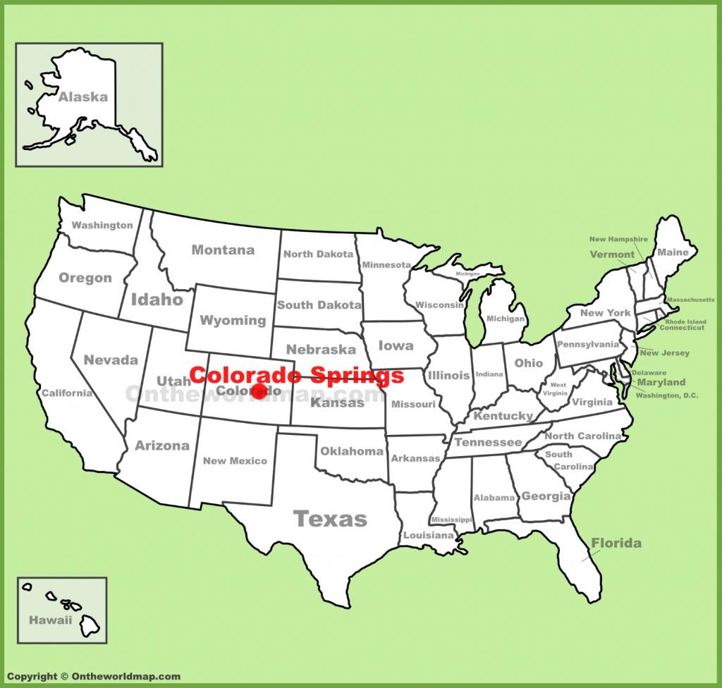Colorado Springs Maps | Colorado, U.s. | Maps Of Colorado Springs regarding Printable Map Of Colorado Springs