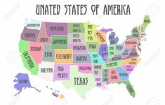 Printable Map Of The United States Of America