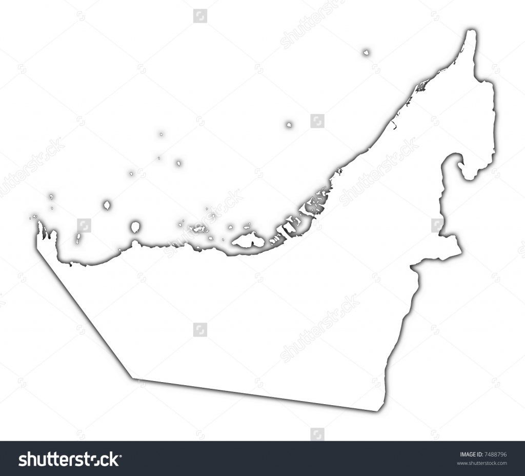 Coloring Map Of Uae | Download Them And Print intended for Outline Map Of Uae Printable