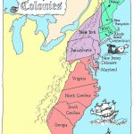 Coloring Pages: 13 Colonies Map Printable Labeled With Cities Blank With New England Colonies Map Printable