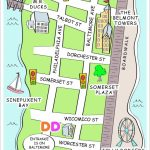 Community Map | Ocean Pines Association | Md   Printable Street Map For Printable Street Map Ocean City Nj