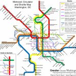 Como Se Locomover Em Washington Dc | Washington Wanderings Regarding Montreal Metro Map Printable