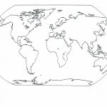 Continents Blank Map | Social | World Map Coloring Page, Blank World With Regard To Map Of Continents And Oceans Printable