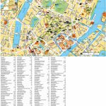 Copenhagen Tourist Attractions Map For Printable Tourist Map Of Copenhagen